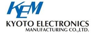 Kemlogo-30 Kyoto Electonics Manufacturing