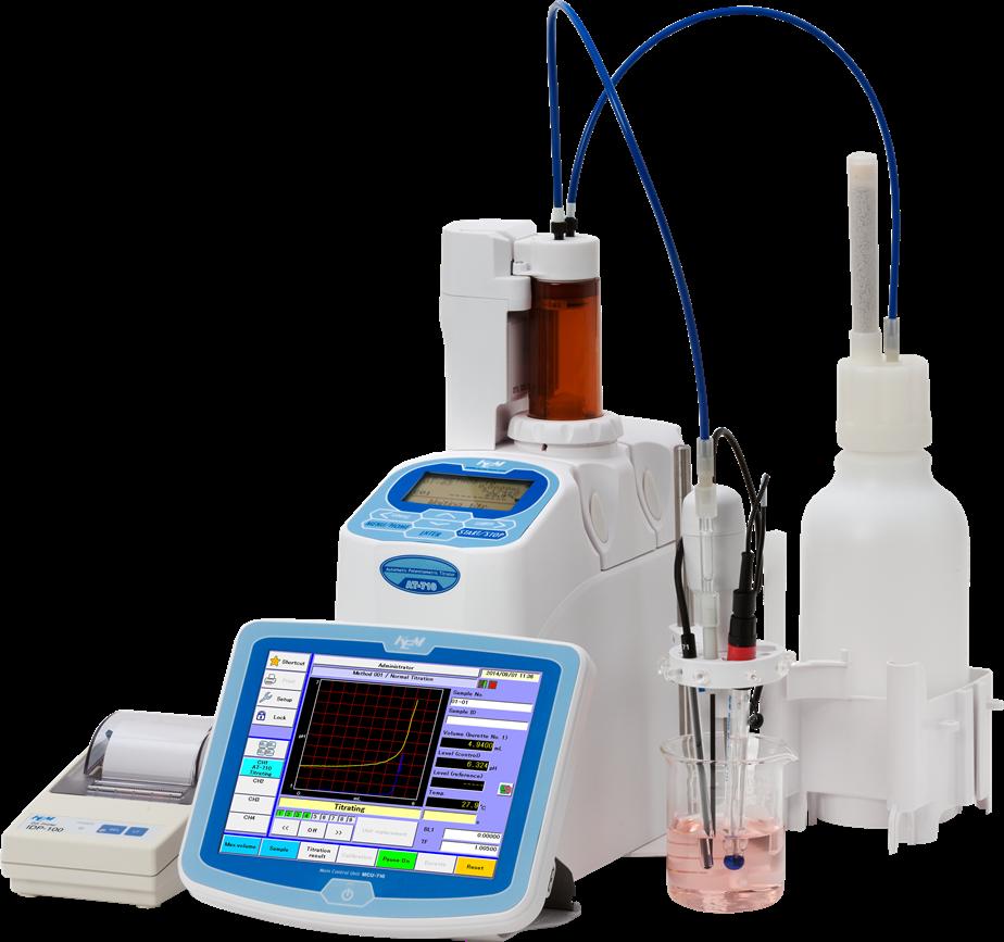 Titolatori potenziometrici automatici KEM AT-710S