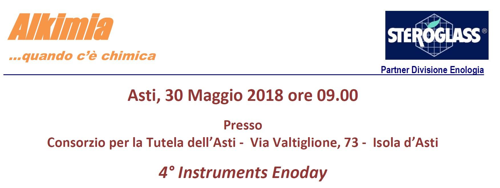 4° Instruments Enoday - Piemonte 2018