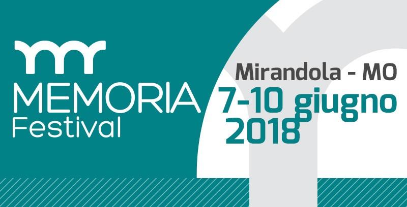 Memoria Festival Mirandola - Copertina
