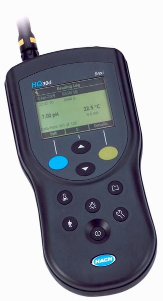 Hach - Multimetro portatile a canale singolo per pH, ORP, conducibilità, TDS, resistività, salinità e LDO HQ30D